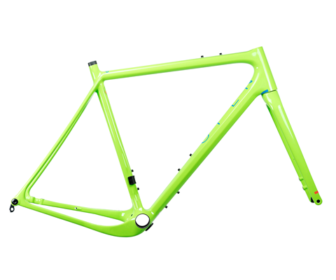 OPEN U.P. Frameset Green XL