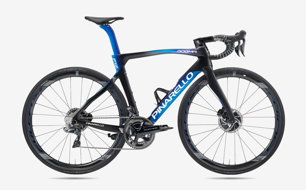 Pinarello Dogma F12 Rahmenset Galaxy Blue 59.5
