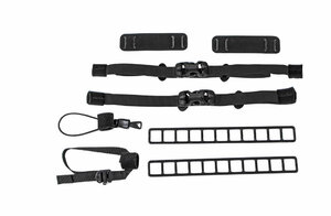 ORTLIEB Attachment kit for Gear - black