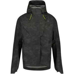 AGU Commuter Tech Rain Jacket Reflection Black