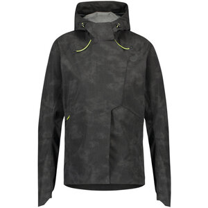 AGU Women Commuter Tech Rain Jacket Reflection Black