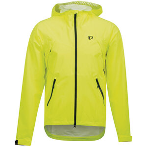 PEARL iZUMi Monsoon WxB Hooded Jacket screaming yellow phantom