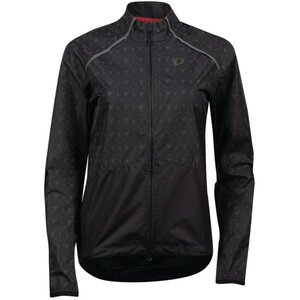 PEARL iZUMi W Bioviz Barrier Jacket black reflective deco