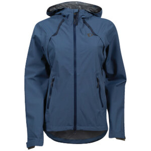 PEARL iZUMi W Monsoon WxB Hooded Jacket dark denim navy